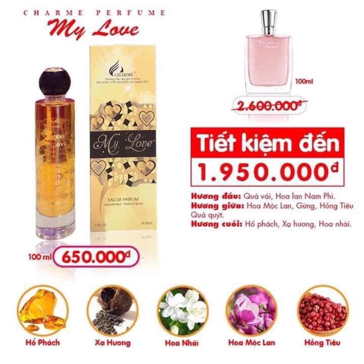 nước hoa may love charme